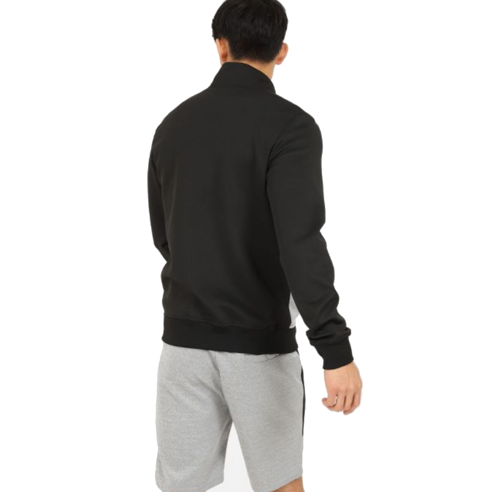 Customized Best Quality Men der Twin Sets Long Sleeve Hoodie und Shorts 2 Piece Combo Set Plain Black n Grey Color Twin Sets