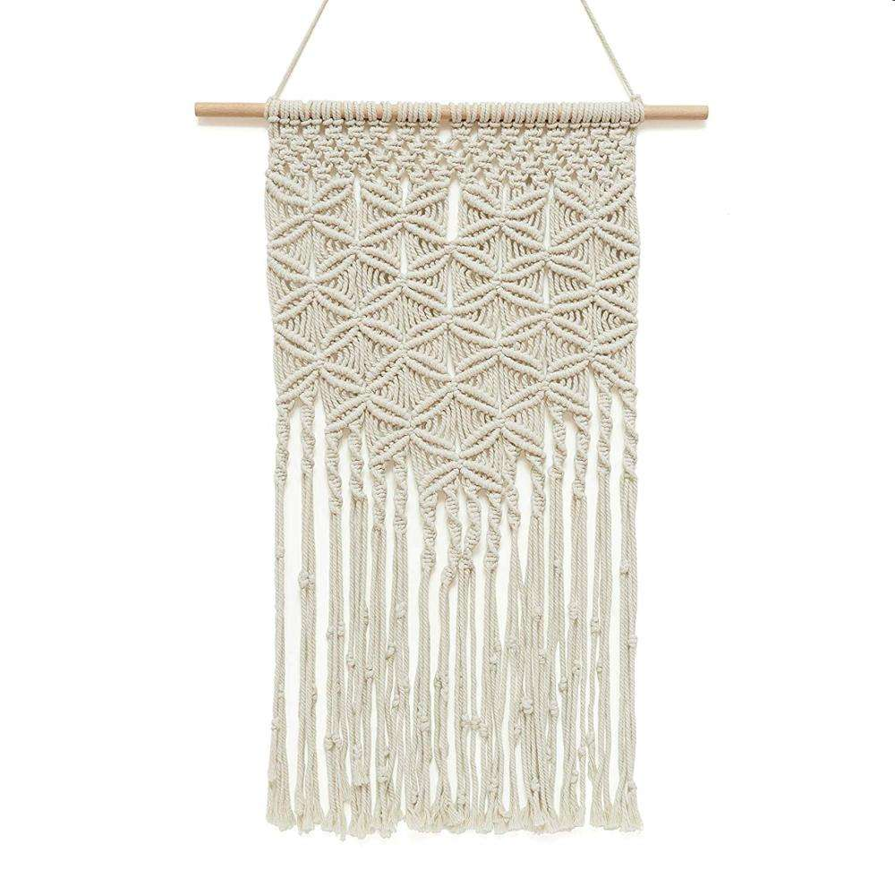 Macrame Woven Wall Hanging Tapestry Large, Room Hangers Decor, Home Art