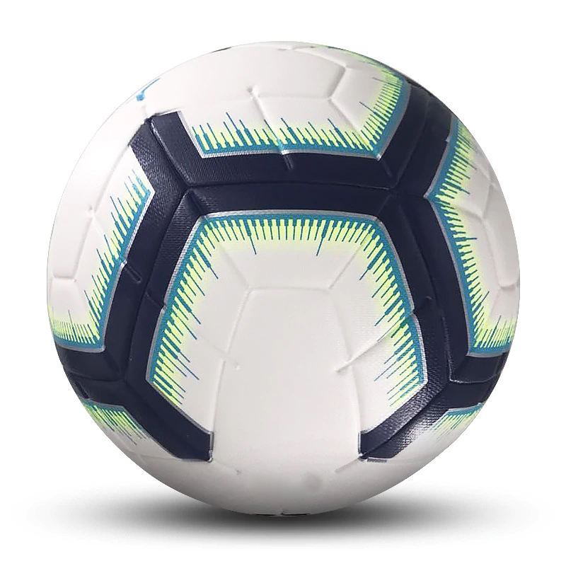 High Quality Official Size 5 Football Balls PU Slip-Resistant Seamless Match Training Equipment Football Balls