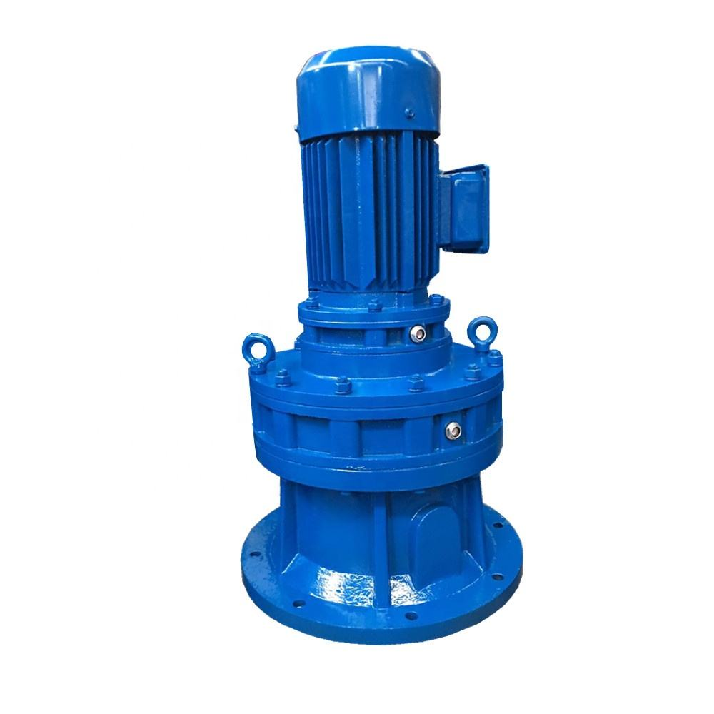 XLD BLD 5.5 3 concrete mixer speed reducers cycloidal gearbox vertical to horizontal shaft gear box with motor