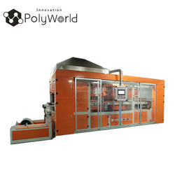 Multi-Station thermoforming machine PET PVC PS