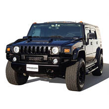 Customised used HUMMER H2 LHD with DURAMAX V8 Turbo Diesel