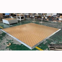 Easy to Set Up Interactive Wooden Dance Floor for Dance Hall
