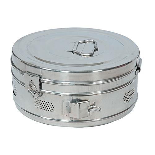 Dressing Drum Perforated, Dressing Drums, CE Certified Medical Stainless Steel Dressing drums 2020
