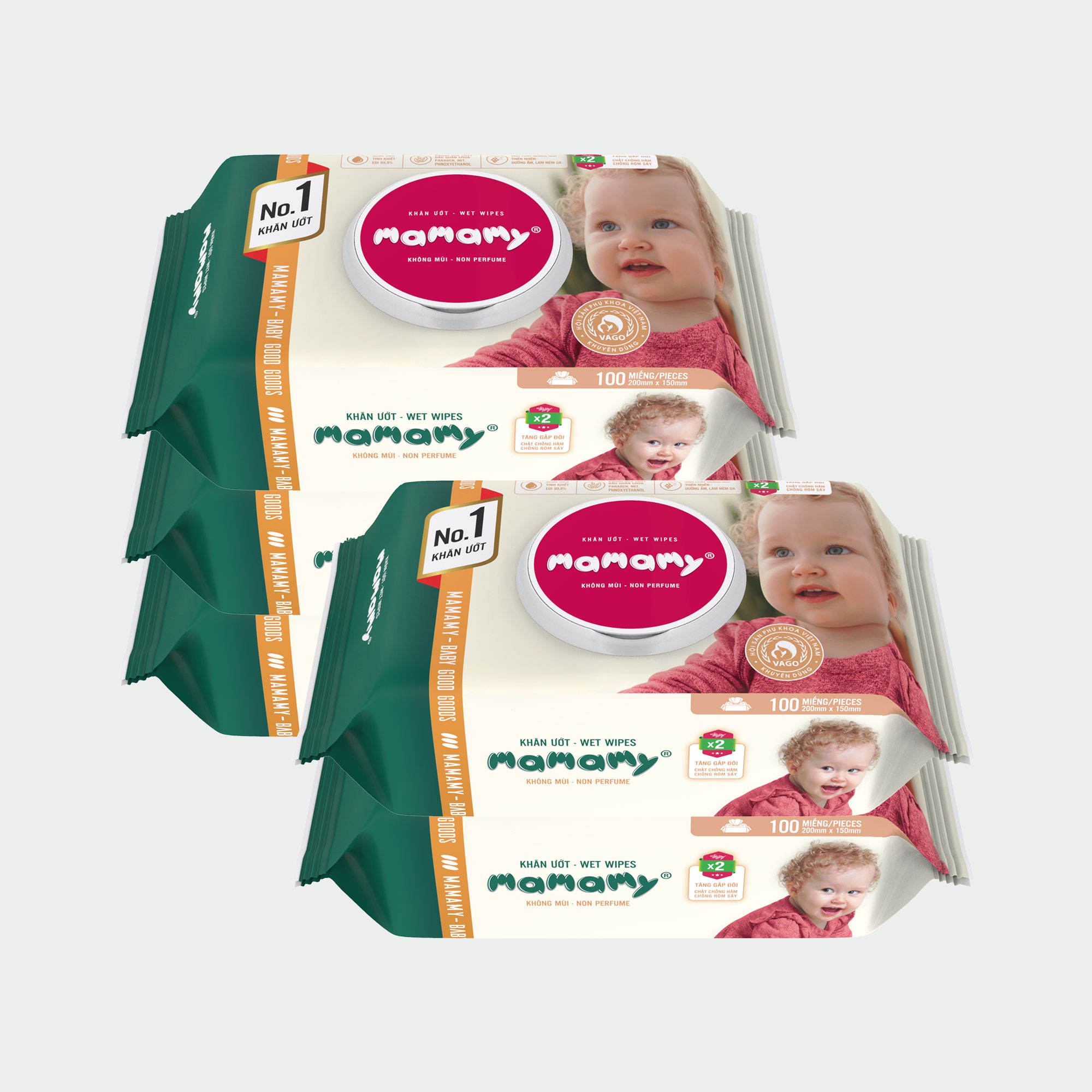 Wholesale Vietnam Supplier Custom Logo Anti Bacteria For Sensitive Skin Bamboo Baby Wet Wipes