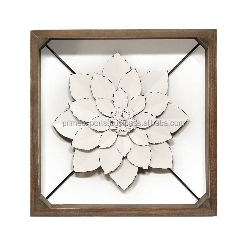 Vintage royal European style wall decor with wood frame for home hotels motels and restaurant decor most running wall frame