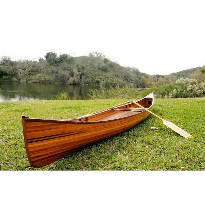 Real canoe 16' (L480 cm) High Quality Made in Vietnam/ Racing Boat/ Water Rowing/ HOme Decoration