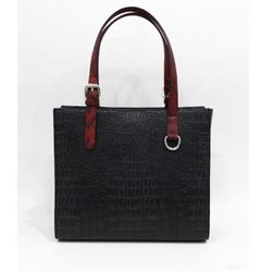 Black Red  Ladies Hand Bags / New Design Hand Bags Women