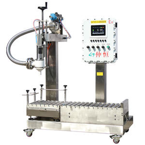 liquid filling machine semi-automatic 5 gallon barreled bottle filler made in China by GSS wholesale seek angecy