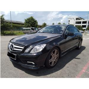 Germany Used Model Black Car MERCEDES BENZ E250 CGI 2011 With Auto Gear Box for Wholesale