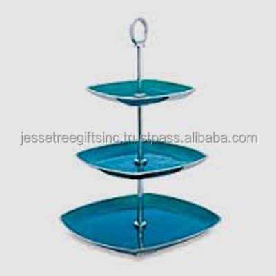 Three-Tier Cake Stand Blue