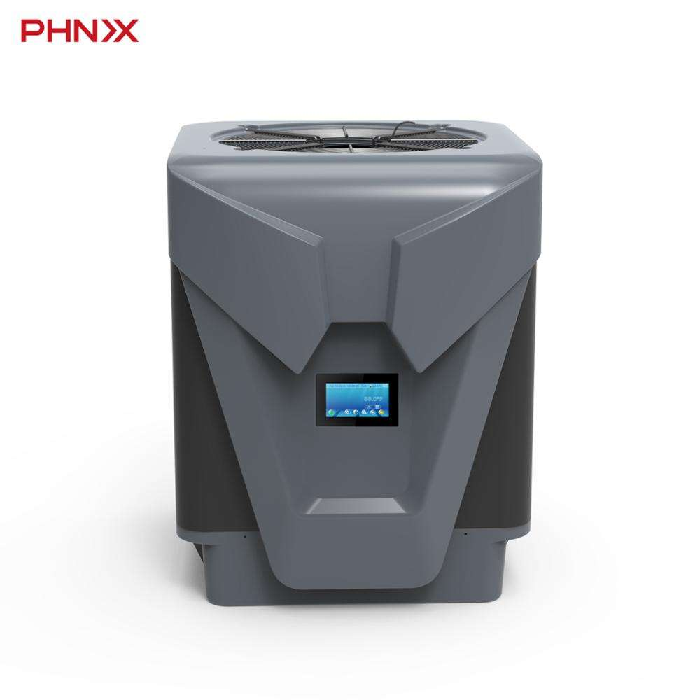 Turbo Series PHNIX Heat Pump DC Inverter Swimming Pool Heater Wifi Controller Portable Price with High COP