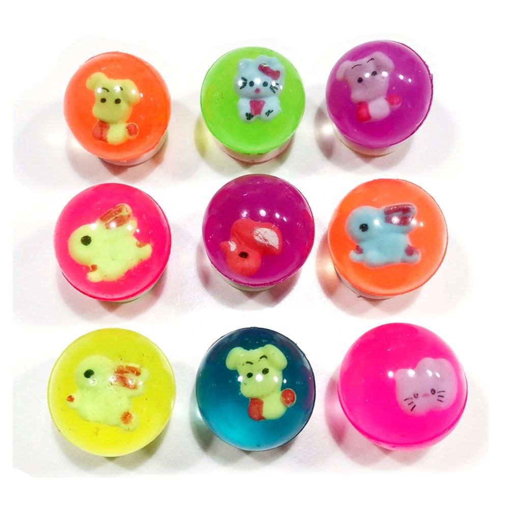 3D ตัวเลข 32mm bouncy ball 24 pcs pack