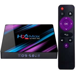 Factory Price H96 max RK3318 4k HDR ram 4gb ddr3 internet android 9.0 tv set top box Rockchip H96 Max Set top box