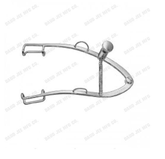 Ophthalmic Weiss Eye Speculum adjustable with locking screw