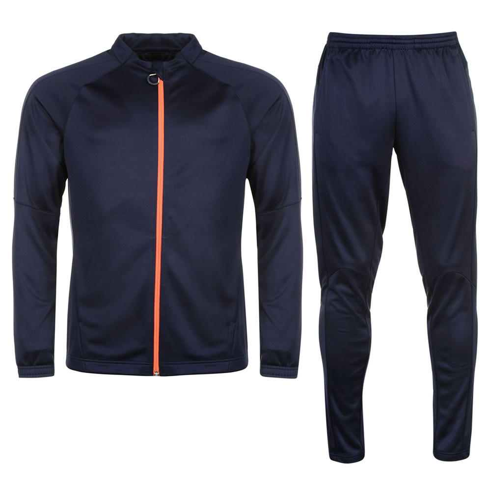 Jogging Custom 100% Polyester Windproof Mens Tracksuit/ Sports Track Suit