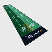 Indoor Putting Green, Golf Training Putting Practice Mat with Carry Bag