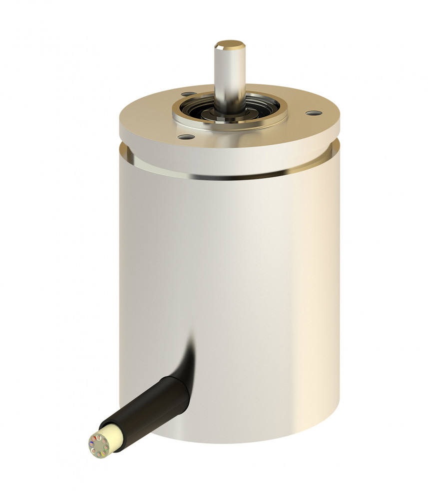 Rotary encoder TRA42 - Absolute rotary encoder with Hall elements and absolute multiturn gearbox, with shaft sealing ring