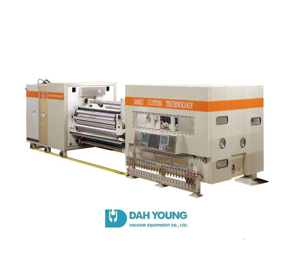 Taiwan Excellence Roll to Roll- PVD Vacuum Coating Machine For Plastic Film and Barrier Coating Film