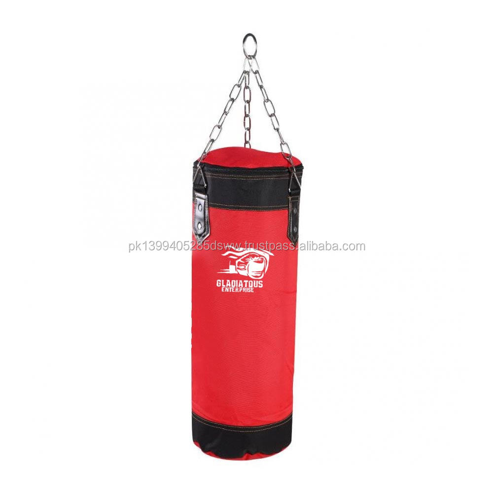 Karate Sandbag Gloves Wrist Guard Empty Kick Sand Bag Hanging Kick Sandbag Boxing Training Fight 60-120cm Empty Boxing Sand Bag