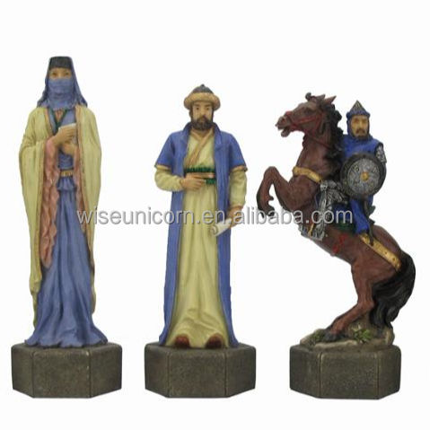 Hot Topic Veronese Boutique Home Game Arabische Poly Hars Schaken Set