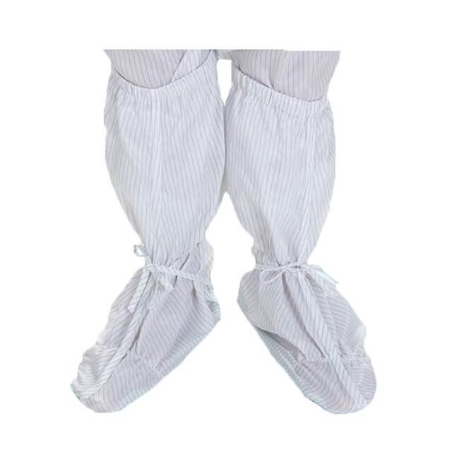 CLEAN ROOM SHORT SAFETY COVERALL BOOTIES SHOES C/W EVA SOLE (CR)