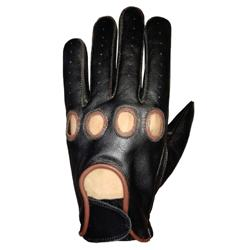 Mens Car Driving Genuine Goatskin  Leather Gloves for Wholesale