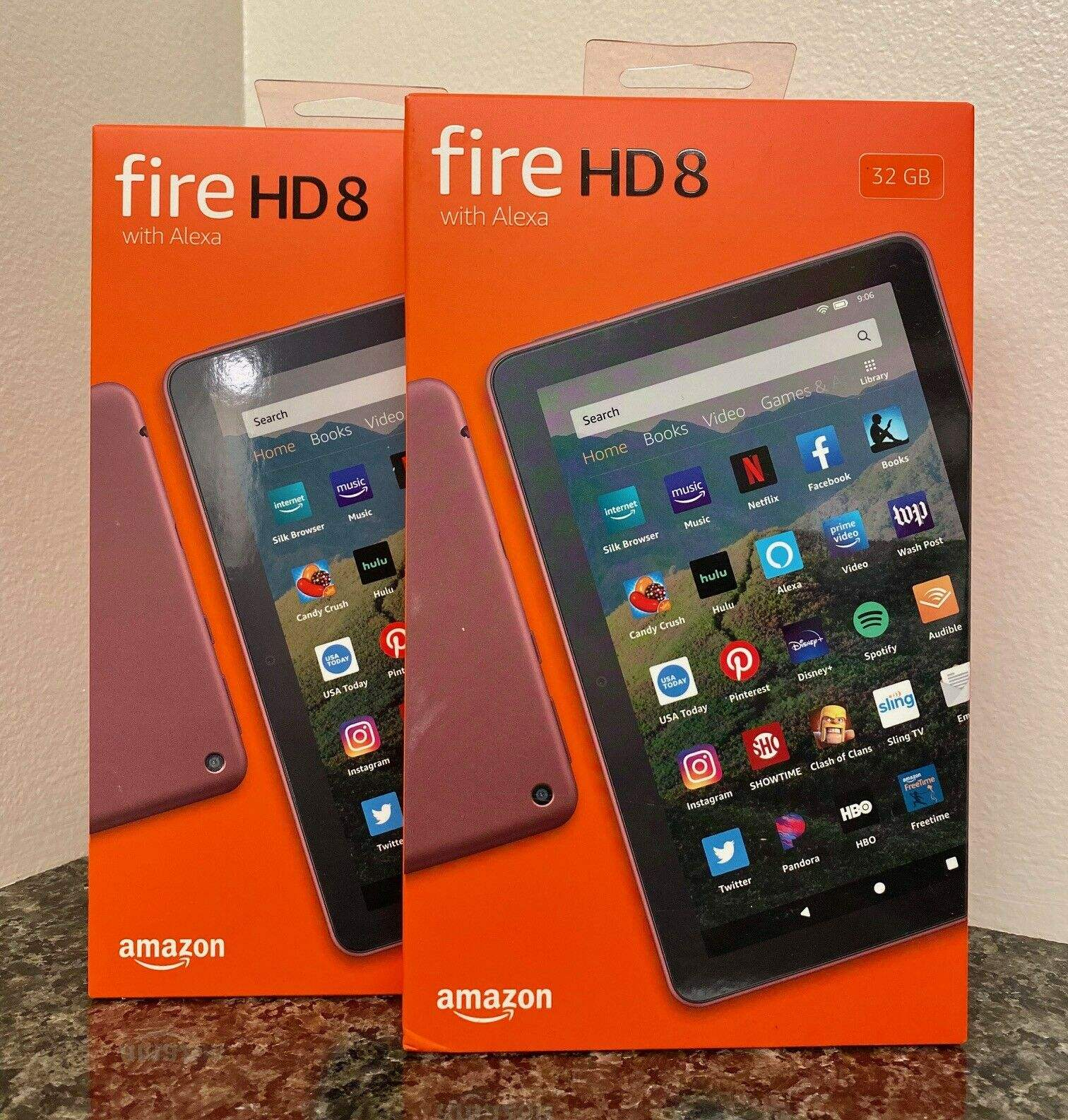 Otantik Amazon Fire HD 8 Tablet ile Alexa 8 HD ekran 32GB (10th Gen)