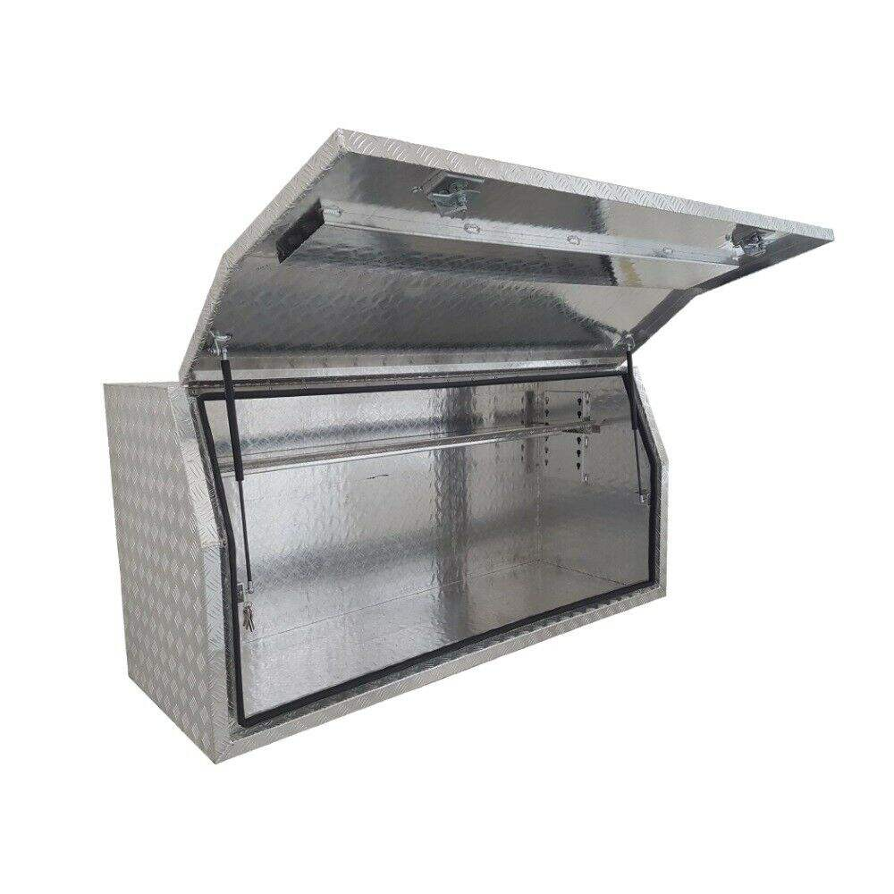 Low Price Full Side Diamond Plate Tool Box For Ute Truck Pickup