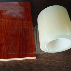 Clear PVDC coated PET roll film for packaging printed materials
