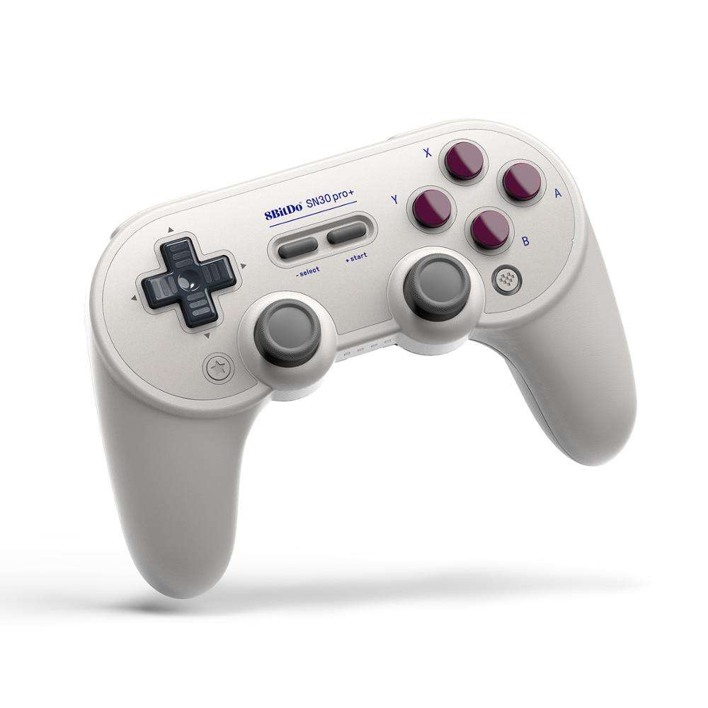 New Retro 8Bitdo Joystick BT Wireless SN30 Pro Plus G Version Controller for Raspberry PC/ Steam/Switch with Vibration