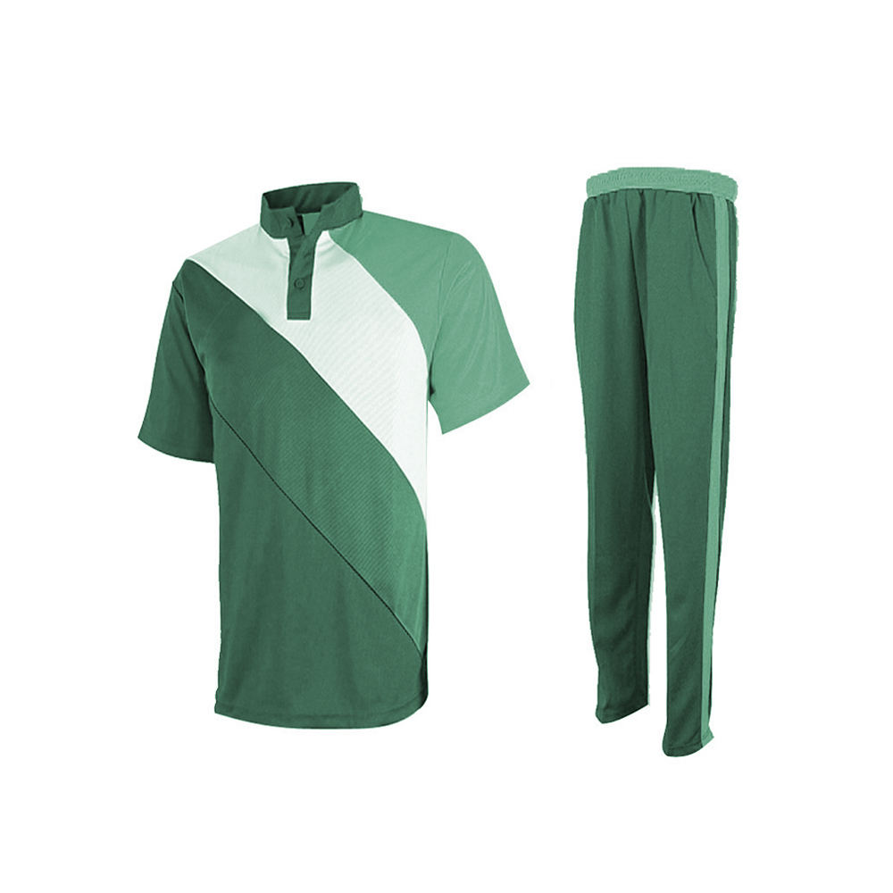 Sublimation Colored Cricket Team Uniform Full Hand Cricket Jersey