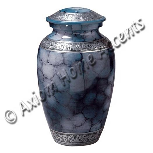 Best Selling Amazon Aluminum Cremation Urn Adult Blue Fire Metal Funeral Cremation Urn For Human Ashes By Axiom Home Accents