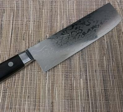 Western style HRB kitchen knife made by Japanese workers damascus knife