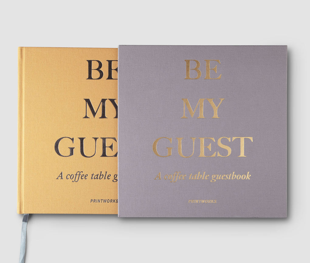 Customized Design for Guest Book LOGO Printed Hardcover Guestbook Notebooks Blank Thick Pages
