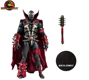 Pvc Make Custom Plastic Spier Man Speelgoed Action Figure Mcfarlane Speelgoed Mortal Kombat 2 Spawn Action Figure
