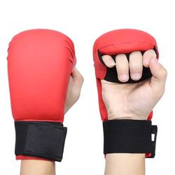 Training Equipment PU karate mitt for martial arts safety training customize logo label