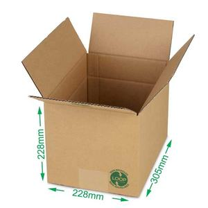 Packing Cartons for Shipping Moving or Storage Crush-Resistant Corrugated Cardboard with Kraft Finish & Lid Flaps