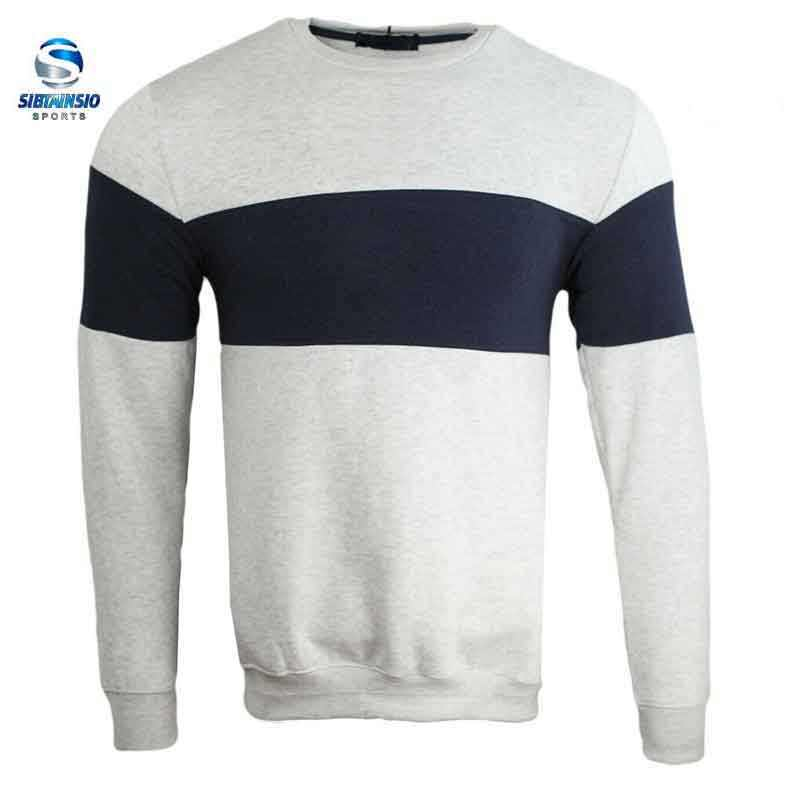 <span class=keywords><strong>Sweatshirt</strong></span> Fabrikant Custom Mannen Losse Plain Sweater