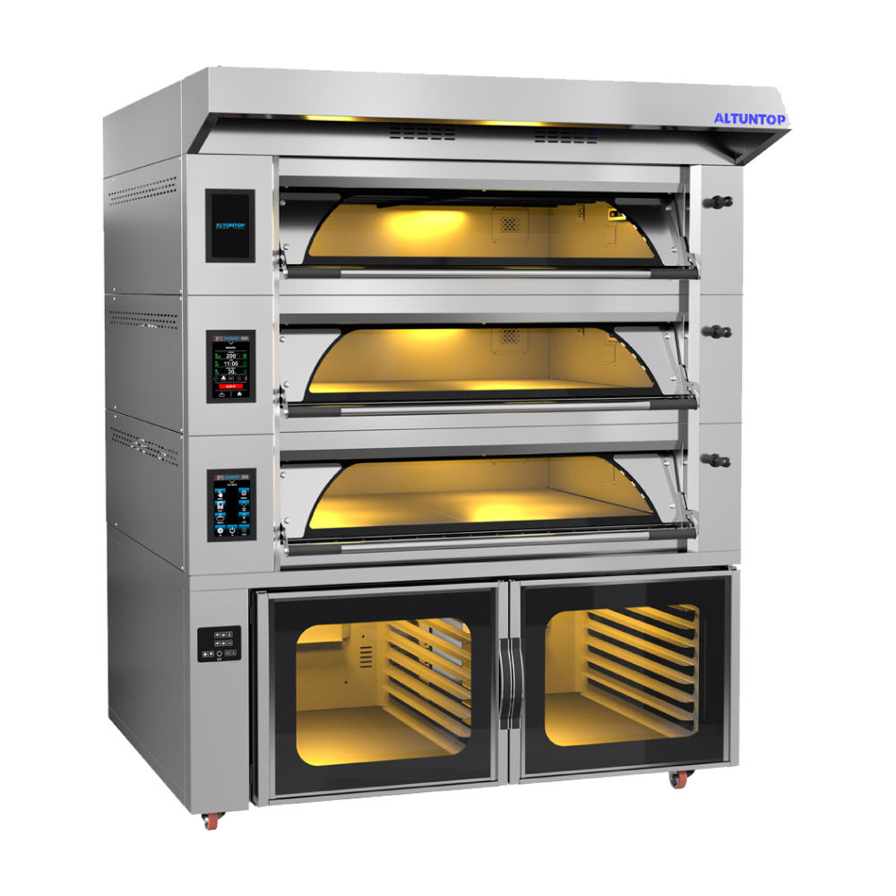 MODULAR ELECTRICAL DECK OVENS