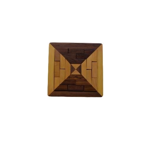 Triangle 3D Puzzle Game made of wood for kids teenagers friends party activity manufacturer from India wholesale