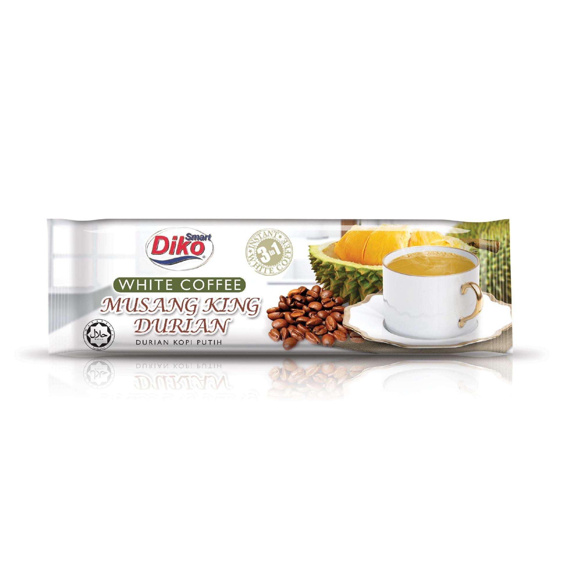 Malaysia Durian white instant coffee 3in1, Fruit Drink