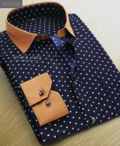 Excellent Design Spring season 2 Ply Cotton Shirts for men from Steve& James