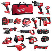 COMPLETE SET FOR Milwa_ukee 2695-15 M18 18V Cordless Lithium-Ion 18-Tool Combo Kits