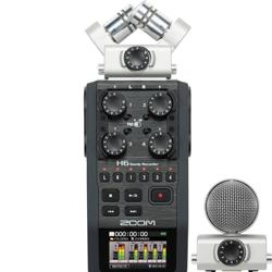 Newest in Stock  H6 6-Input / 6-Track Portable Handy Recorder with Interchangeable Mic Capsule Z o o m