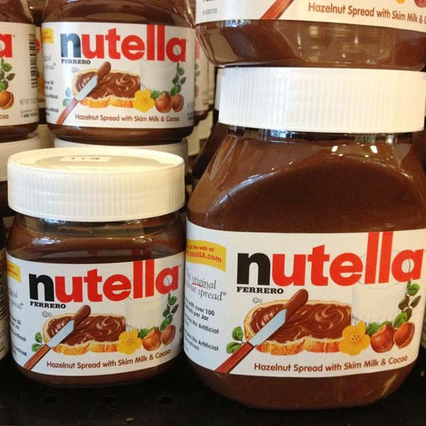 Nutella Chocolat AVEC TAILLES 52g 350g 400g 600g 750g 800g
