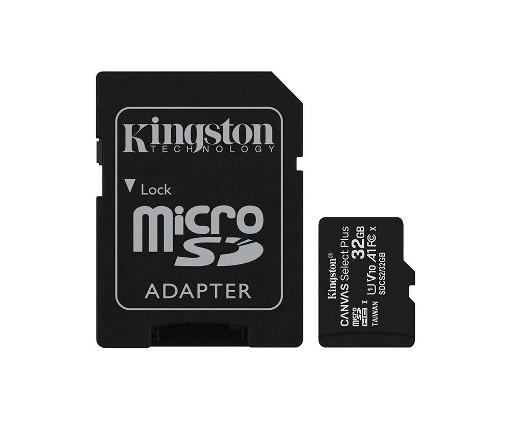 100% original Class 10 Kingston SDCS2 / 32GB Canvas Select Plus microSD Memory Card