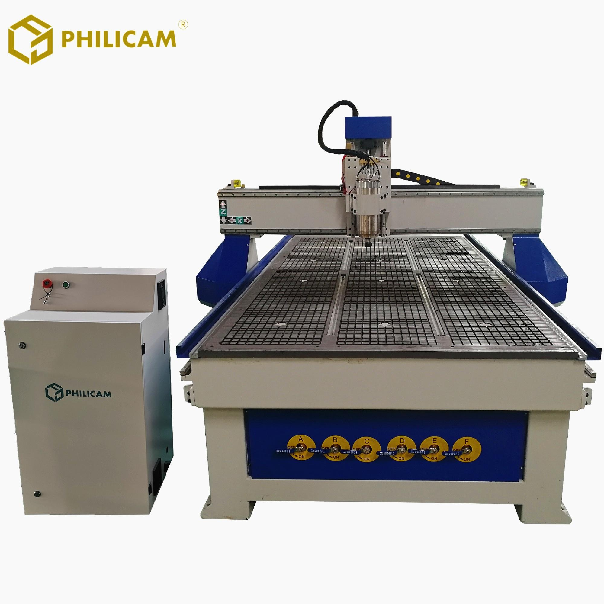 Wood CNC Router Water Cooled Spindle For Cabinet Door