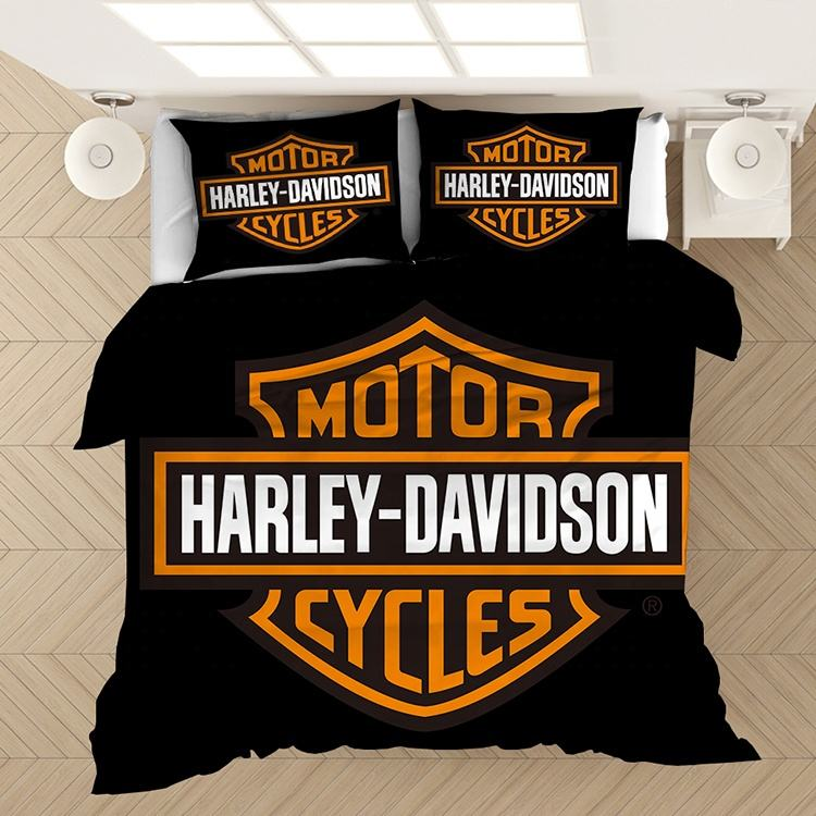 Hot-selling Harley Davidson comforter set bedding bedclothes foreign trade home textile quilt cover