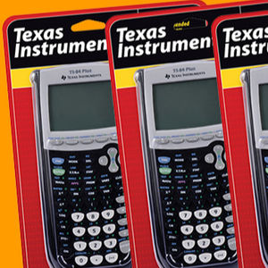 SIMLE Quality - Texas Graphing Calculator Instruments TI-83 Plus